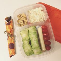 Husband's lunch packed in #EasyLunchboxes