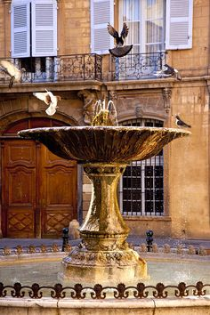 Fountain in Aix-enProvence- a city famous for its #fountains