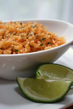 Homemade Mexican Rice ----- better than any restaurant's and makes enough to feed a crowd.
