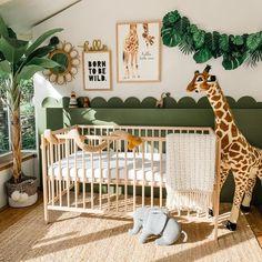Baby Bedroom, Baby Boy Rooms, Kids Bedroom, Baby Room Decor For Boys, Master Bedroom, Jungle Theme Nursery, Jungle Baby Room, Themed Nursery, Safari Room Decor