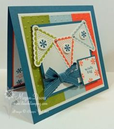 March 26, 2012  Stampin' Up!'s Pennant Parade - Video Tutorial
