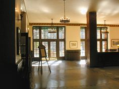 The Ahwahnee Hotel main lobby 2 Yosemite National Park, National Parks, Painted Feature Wall, Kelly Moore, Six Feet Under, Painting Trim, Red Rooms, About Time Movie, The Shining