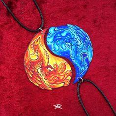 Phoenix Firebird Magic Fantasy Ice Fire Rebirth Spiritual