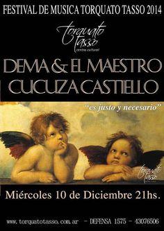 Cucuza + Dema & El Maestro en el Festival del Tasso