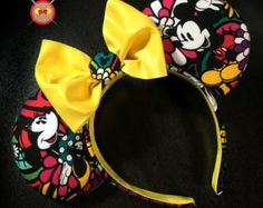 Vera Bradley Inspired Midnight with Mickey by MouseketEarBands