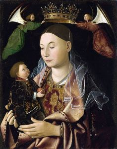 Antonello da Messina: Salting Madonna, c.1460.