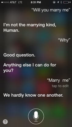 Omg my conversation with Siri. So funny please pin this if u think this is funny