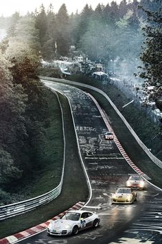 Porsche at the Nurburgring
