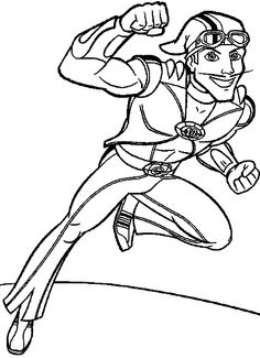 Sportacus airship coloring pages Coloring Pages To Print, Free Printable Coloring Pages, Coloring Book Pages, Coloring Pages For Kids, Coloring Sheets, Kids Colouring, Lazy Town Sportacus, Printed Pages, Hand Embroidery Patterns