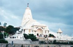 Birla Mandir, a Laxmi Narayan Mandir which is one of the most visited place by tourist and Jaipurites