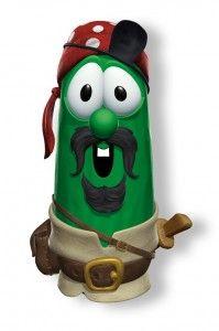 Veggie Tales Pirate Larry (Elliot)