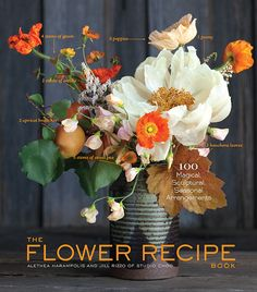 Need some inspiration for your own bouquets? Try The Flower Recipe book, by small stump and studio choo