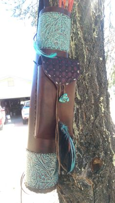 Items similar to Quiver Leather on Etsy Archery Quiver, Arrow Quiver, Crossbow Arrows, Archery Hunting, Bow Hunting, Leather Quiver, Kayaking Gear, Longbow, Traditional Archery