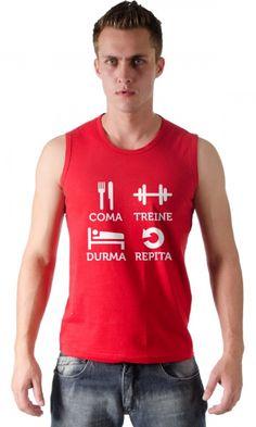 Camiseta Dia a Dia do Maromba.  http://www.camisasgeeks.com.br/p-4-263-2098/Camiseta---Dia-a-dia-do-maromba