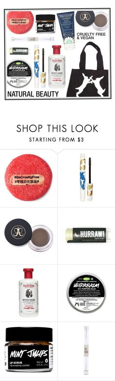 """""""Minimalist/Natural Daily Face"""" by corinnamme ❤ liked on Polyvore featuring beauty, Pacifica, Reebok, Thayers and Forever 21"""
