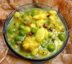 Simple indian recipes of potato