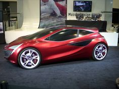 Mazda3 2018 concept model