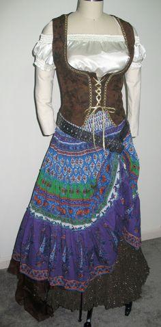Renaissance Gypsy Costumes by FashionRules on Etsy, $79.99