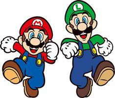 Mario and Luigi render by on DeviantArt Super Mario Bros, Super Mario Kunst, Super Mario Brothers, Nintendo Game, Nintendo Characters, Super Nintendo, Mario And Luigi Games, Mario Und Luigi, Little Doodles