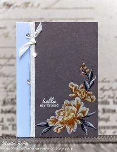 hello friend card by Marika Rahtu