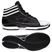 buy online 4621e a1383 Adizero Crazy Lights Black White Mens Basketball Sneakers, Adidas Men, Adidas  Shoes,