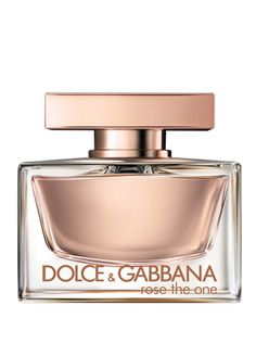 Dolce & Gabbana Rose The One Perfume  This tribute to female beauty signals contemporary elegance embodied by a woman with an instinctively classic sense of style. Her essence is a soft, rosy floral designed around a bouquet that evokes precious, delicate sensuality. Petal by petal, the scent reveals a timeless rose blend that channels the heritage of the consummate Italian fashion brand.
