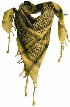 9f085998098 Arab 1388 Yellow Scarf Shemagh military scarves Military Scarf