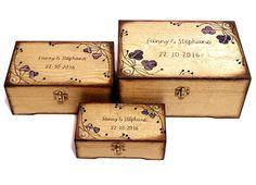 Set Boîte Mariage Boîte Set Cadeau Mariage Set por Personalizedbox