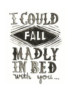 Madly in Bed // www.thesailorssong.com
