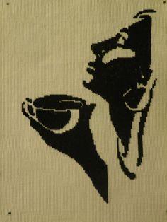 Kobieta z filiżanką