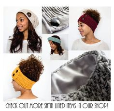13 Best Beanies and Natural Hair images  ed3c1ca99920