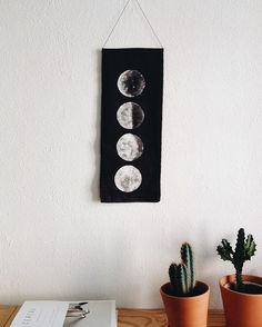 The ELOEIL moon phase wall hanging @schjoenning :: wall hanging = concert ticket #familybargains