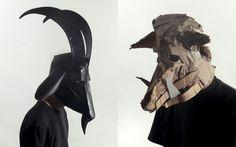 Jozef Mrva's Cardboard Masks 9e