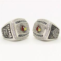 Custom 2013 Louisville Cardinals National Championship Ring