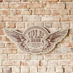 Redeemed - Hide Me in the Shadow of Your Wings - Wall Art