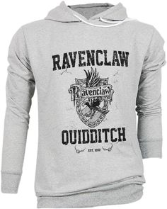 Ravenclaw Harry Potter Hogwarts Quidditch Team Festival Retro VTG Jumper Sweater Sweatshirt Long Sleeve Pullover Hoodie Hood S M L