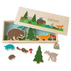 DwellStudio Kids Toys Creative Play Set Woodland - $36