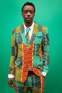 Tailored High Life Seen at @africanprintsinfashion