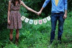 cutest engagement picture idea ever…props again to Jaimie.   best stuff