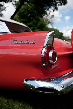 1956 Ford Thunderbird..Re-pin..Brought to you by #agentsofInsurance at #HouseofInsurance in #EugeneOregon 97401, 97402, 97403, 97404, 97405