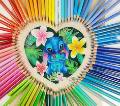 Polychromos, Faber Castell, Prismacolor, Colored Pencils, My Arts, Video Link, Stitch, Drawings, Disney