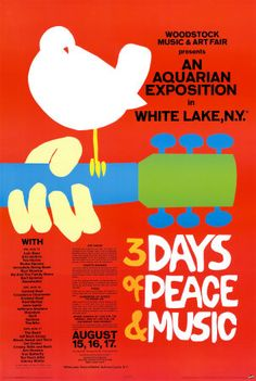 WOODSTOCK - My husband famously said it wouldn't be worth attending!!