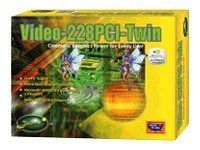 Jaton Video 228PCI-Twin - Graphics adapter - GF FX 5200 - PCI - 128 MB DDR GEFORCE FX5200 128MB DDR PCI DUAL VGA Manufacturer Part Number 228PCI-TWIN by Jaton. $128.27. GEFORCE FX5200 128MB DDR PCI DUAL VGA The Video-228PCI Series video accelerators are excellent 2D/3D multimedia video adapters for PCI local bus desktop PCs. Based on nVIDIA GeForceFX 5200 core technology, these video cards will provide multiple display outputs onboard for TVout (Analog and Digital) or Dual RG...