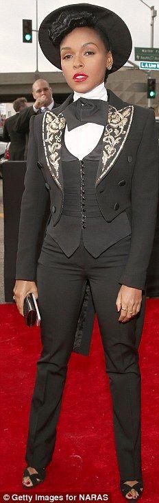 Janelle Monae - Grammys, 2013