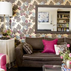 Blue+raspberry Design Ideas, Pictures, Remodel and Decor