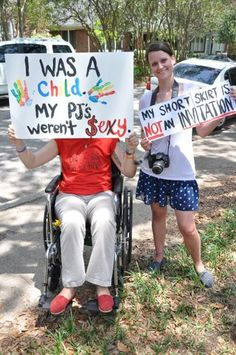 From Slutwalk- very moving.
