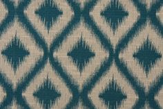 Robert Allen Ikat Fret Tapestry Upholstery Fabric in Tourmaline $21.95 per yard