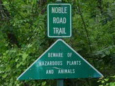 Nothing like a scenic trail...