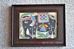 Madhubani Painting on Etsy, $10.00