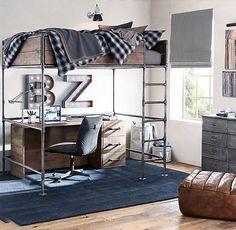 Bedroom Loft Desk Storage 23 Ideas For 2019